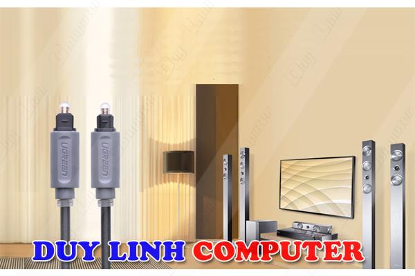 Cáp audio quang 1.5M vỏ nhựa chính hãng Ugreen 10769