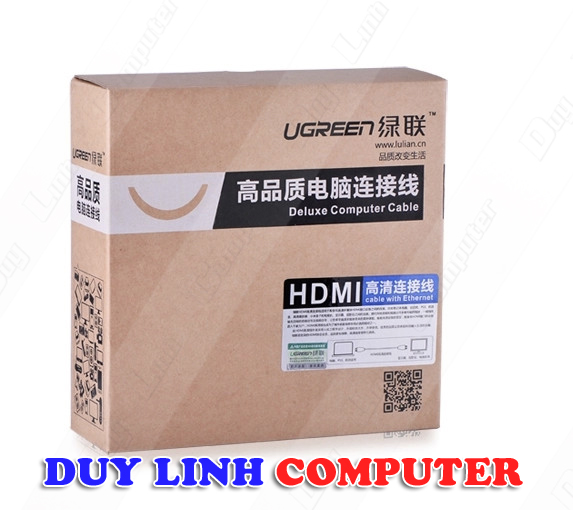 Cáp HDMI 8m HD125 cao cấp Ugreen UG-10286 cho công trình, dự án đi dây ngầm chất lượng 4K*2K