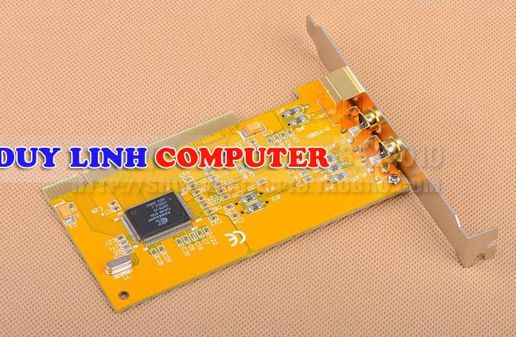 Card PCI to AV/Svideo Fusion 878A - Card ghi hình cho máy nội soi, siêu âm