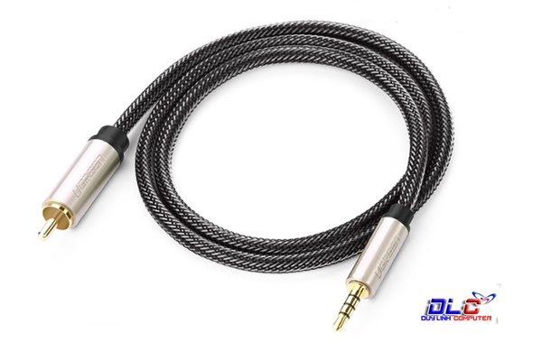 Cáp Audio 3.5mm to RCA Coaxial 3M Ugreen 20734 Cao Cấp