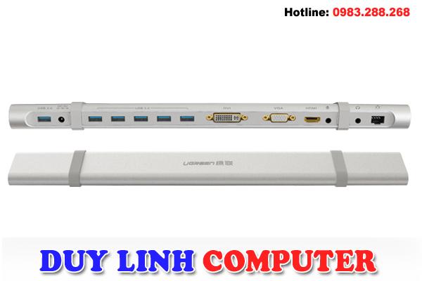 Bộ chuyển đổi USB 3.0 đa năng, cao cấp chính hãng Ugreen 40258