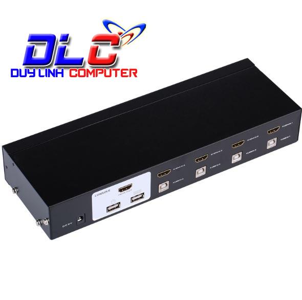 KVM Switch HDMI usb 4 cổng MT Viki MT-2104HL chính hãng