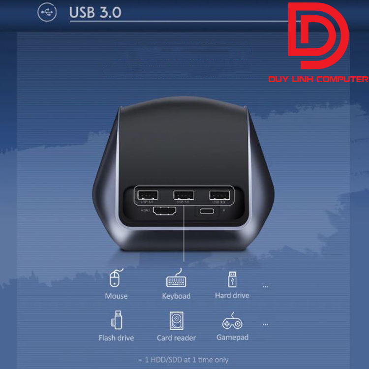 Ugreen 50515 - USB Type C to HDMI Dock, USB 3.0 supports USB C source