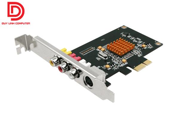 Card PCI ghi hinh chuan ket noi Svideo AV Lianxinhongfu LX725 0