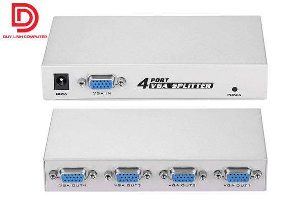 Bộ chia 1 máy tính ra 4 màn hình chính hãng Viki MT-1504