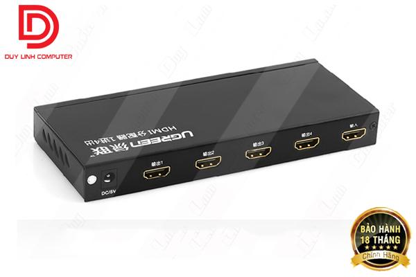 Bộ chia HDMI 1 ra 4 chính hãng Ugreen UG-40202
