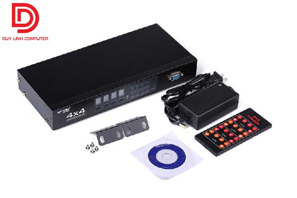 Bộ chia HDMI 4 cổng vào 4 cổng ra MT-viki MT-HD4x4