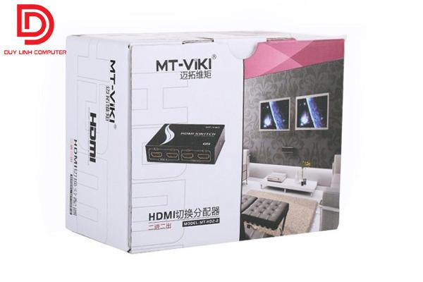 Bộ chia HDMI MT-VIKI (MT-HD2-2) 2 vào 2 ra chính hãng chất lượng cao