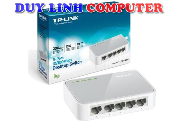 Bộ chia mạng - Switch TP-Link TL-SF1005D, Chia 5 cổng LAN