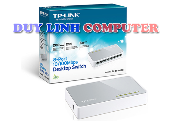 Bộ chia mạng - Switch TP LINK TL-SF1008D, chia 8 cổng LAN