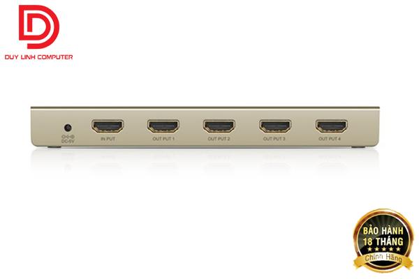 Bộ chia tín hiệu HDMI 1 ra 4 cao cấp Ugreen 40277