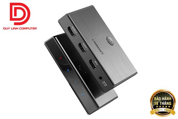 Bộ chia tín hiệu HDMI 2.0 1 ra 2 Ugreen 50707 hỗ trợ 4K2K@60Hz