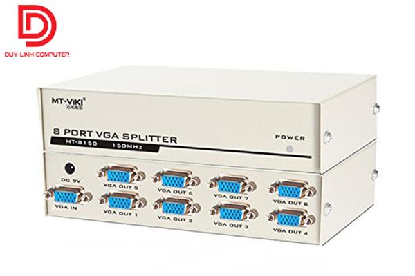Bộ chia VGA 1 máy tính ra 8 màn hình chính hãng Viki MT-8150.