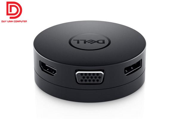 Bộ chuyển đổi Dell DA300 - Hub USB Type C 6 in 1 chính hãng cao cấp