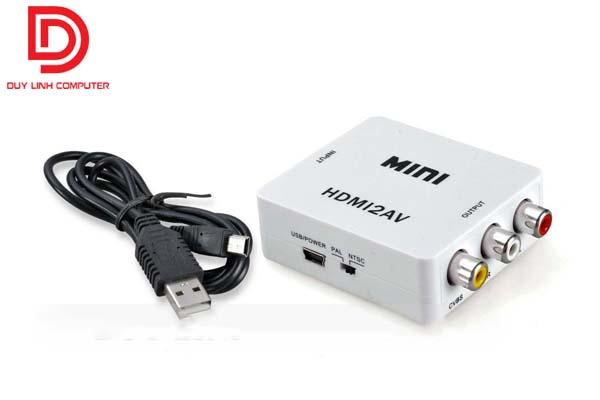 Bộ chuyển đổi Mini HDMI to AV