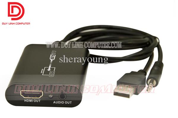 Bộ chuyển đổi tín hiệu từ USB to HDMI