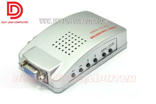 Bộ chuyển đổi VGA to AV - SVIDEO