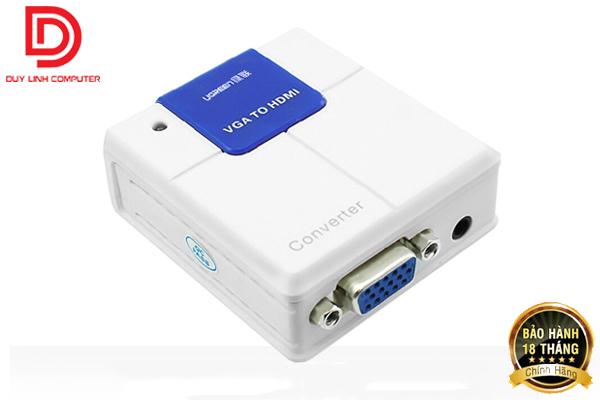 Bộ chuyển đổi VGA to HDMI cao cấp chính hãng Ugreen 40224