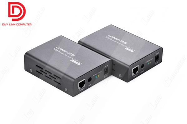Bộ kéo dài HDMI 60M thông qua CAT5E,CAT6 chính hãng Ugreen 40210