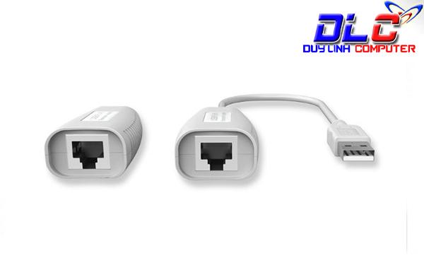Bộ kéo dài USB qua mạng Lan cao cấp MT-150FT ( màu trắng )