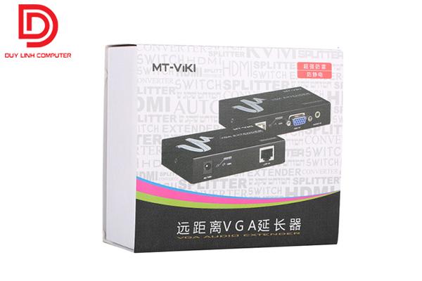 Bộ kéo dài VGA qua mạng Lan 50M chính hãng ViKi MT-50T