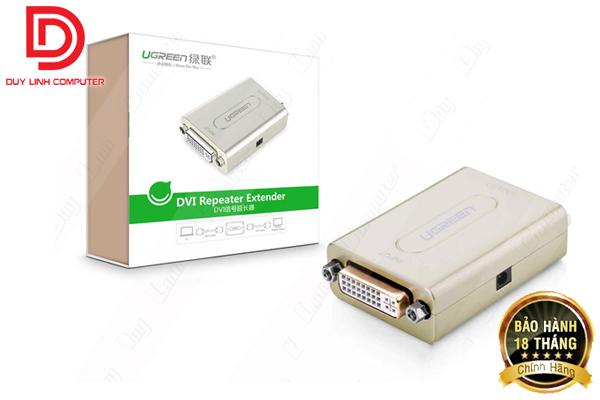 Bộ khuyếch đại DVI to DVI 60m Ugreen 40266 hỗ trợ Full HD 1080p