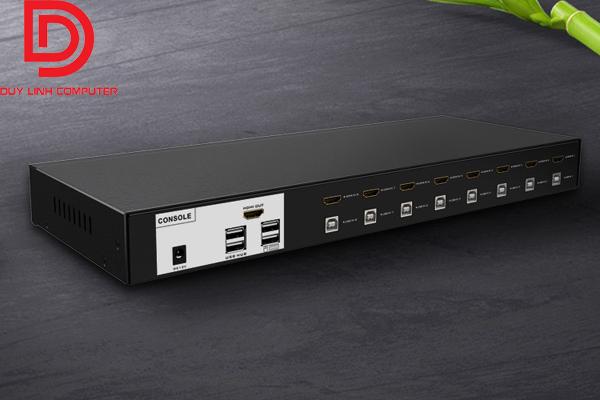 Bộ KVM Switch HDMI  MT-Viki MT-0801HK 8 máy tính dùng chung 1 màn hình cao cấp