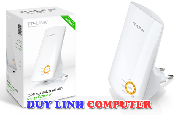Bộ mở rộng, thu và kích sóng Wifi Tp-Link TL-WA750RE 150Mbps