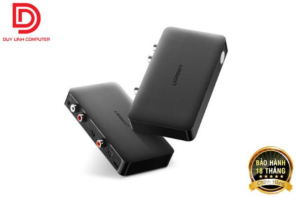 Bộ nhận Bluetooth 4.2 Music Receiver Ugreen 40856 chính hãng hỗ trợ APTX
