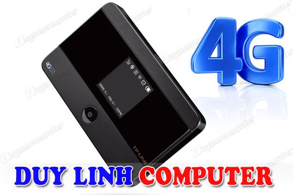 Bộ Phát wifi di động 3G/4G qua sim chính hãng Tp-Link M7350