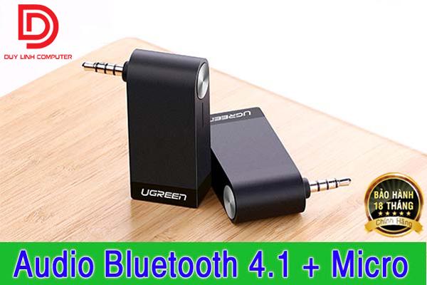 Bộ thu âm thanh không dây Bluetooth 4.1 có Micro Ugreen 30348 chính hãng