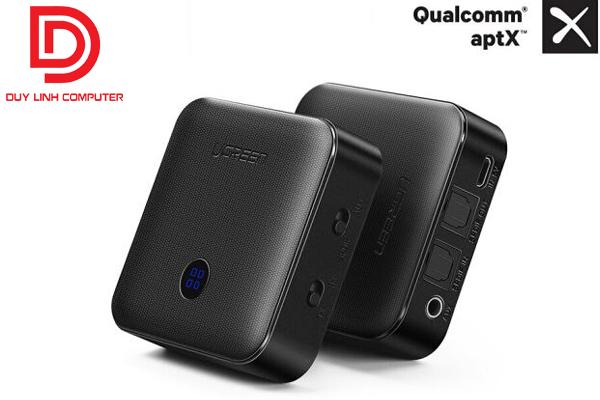 Bộ thu phát Bluetooth 4.2 Ugreen 50256 (TX/RX) chính hãng hỗ trợ APTX