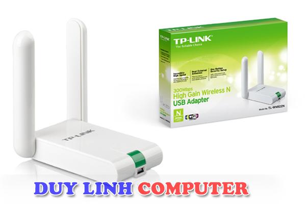 Bộ thu Wifi Tplink TL-WN822N tốc độ 300Mbps
