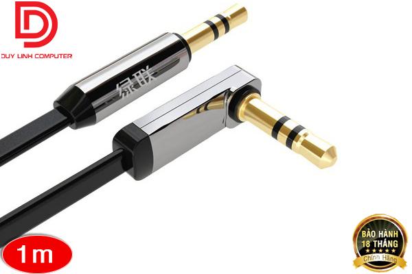 Cáp Audio 3,5mm dài 1,5M Ugreen 10598 bẻ góc 90 độ