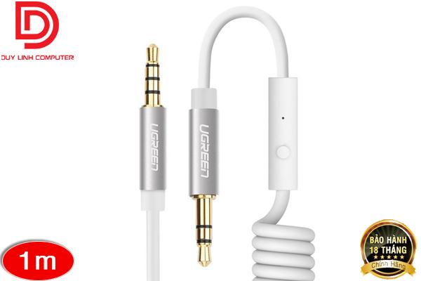 Cáp Audio 3.5mm dài 1M hỗ trợ Mic Ugreen 20706