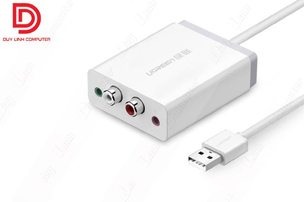 Cáp chuyển USB to AV chính hãng Ugreen 30521
