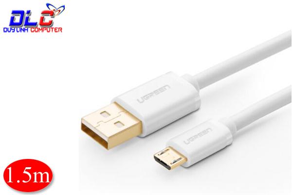 Cáp Micro USB to USB 2.0 dài 1.5m chính hãng Ugreen 10849