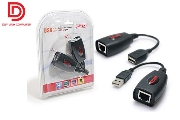 Cáp nối dài USB 50M qua cáp mạng Cat5e/6 chính hãng Unitek Y-2505