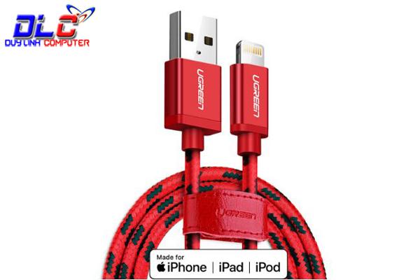 Cáp Sạc iPhone 1M Ugreen 40479 Cao Cấp, Vỏ Dù Siêu Bền