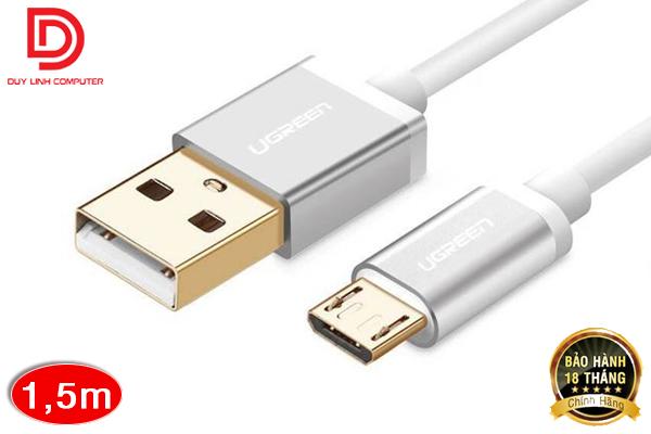 Cáp USB 2.0 To micro USB dài 1,5m Chính Hãng Ugreen 10830