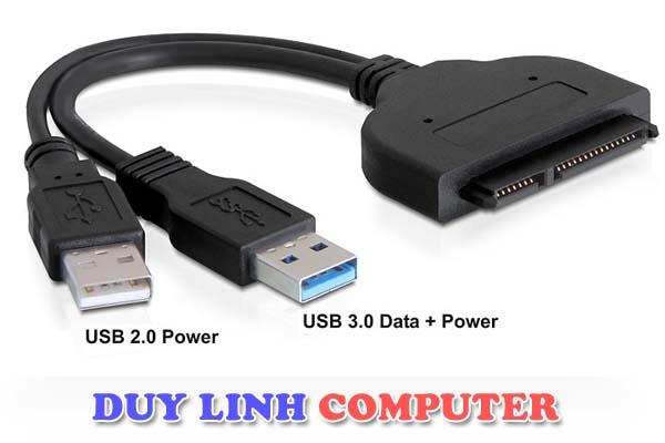 Cáp USB to SATA 3.0 - Cắm HDD trực tiếp không cần nguồn ngoài