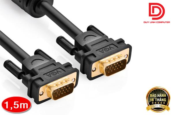 Cáp VGA 1,5M chính hãng Ugreen UG-11630 chất lượng cao