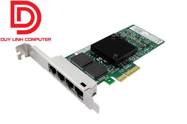 Card PCI Express x4 to 4 lan tốc độ 1000Mbps dùng cho server