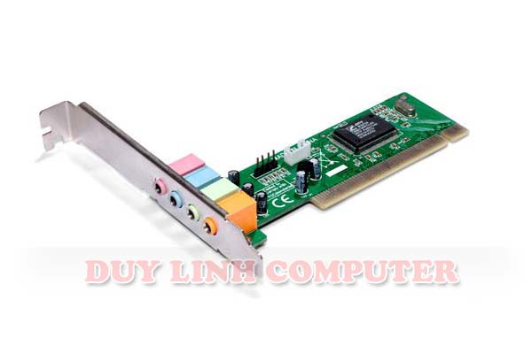 Card PCI Sound 4.1 - Car âm thanh
