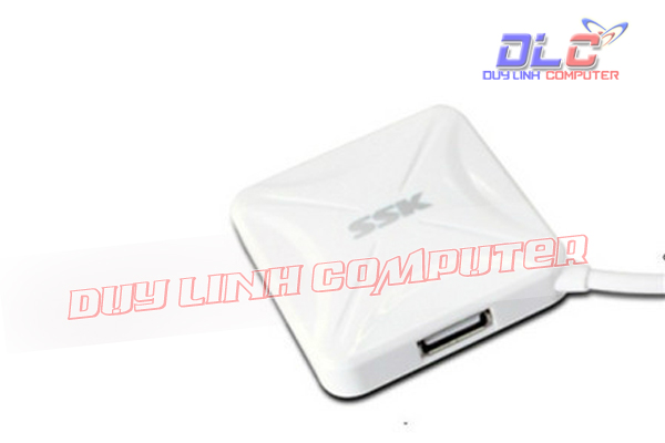 Chia USB 4 cổng SSK SHU027 chính hãng