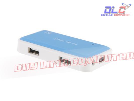 Chia USB SSK SHU008 chính hãng ra 4 cổng