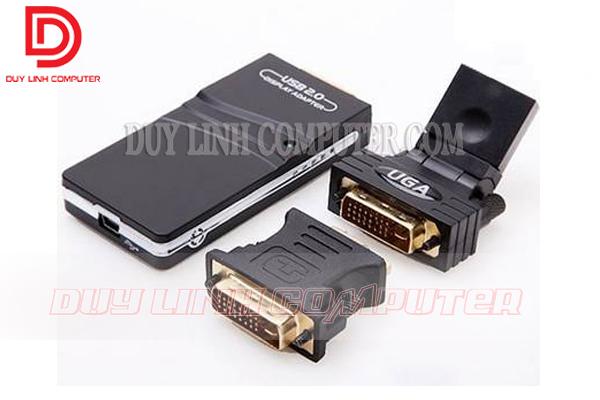 Chuyển đổi từ USB to VGA, DVI, HDMI