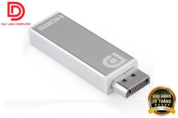 Đầu chuyển đổi Displayport to HDMI Ugreen 20401 Vỏ nhôm cao cấp