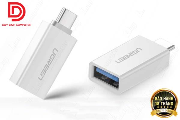Đầu chuyển Type-C to USB 3.0 Ugreen chính hãng (Model: 30155)