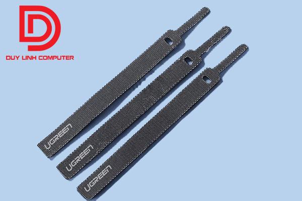 Dây cáp dính dành cho tai nghe, chuột, dây 3.5mm Ugreen 50370 dài 15cm chính hãng